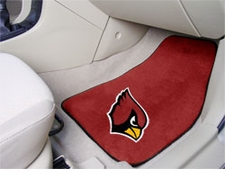 Arizona Cardinals Car Mats 2 Piece Front Set