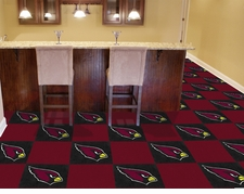 "Arizona Cardinals Carpet Tiles - 20 18"" x 18"" Tiles"