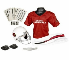 Arizona Cardinals Deluxe Youth / Kids Football Uniform Set