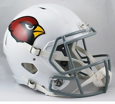 Arizona Cardinals Full-Size Deluxe Replica Speed Helmet
