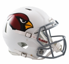 Arizona Cardinals Revolution Speed Riddell Authentic Helmet
