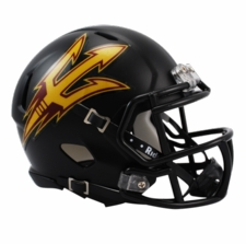 Arizona State Sun Devils Black Riddell Speed Mini Helmet