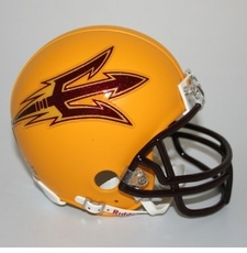 Arizona State Sun Devils Gold Riddell Replica Mini Helmet