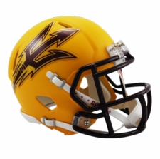Arizona State Sun Devils Gold Riddell Speed Mini Helmet