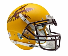 Arizona State Sun Devils Gold Schutt XP Authentic Helmet