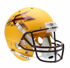 Arizona State Sun Devils Gold Schutt XP Full Size Replica Helmet