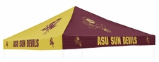 Arizona State Sun Devils Maroon / Gold Logo Tent Replacement Canopy