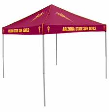 Arizona State Sun Devils Maroon Logo Canopy Tailgate Tent