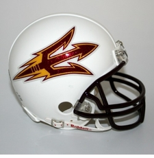 Arizona State Sun Devils White Riddell Replica Mini Helmet
