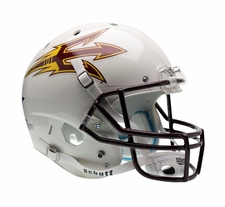 Arizona State Sun Devils White Schutt XP Full Size Replica Helmet