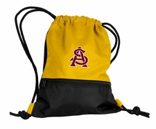 Arizona State Sun Devils Yellow String Pack / Backpack