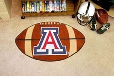 "Arizona Wildcats 22""x35"" Football Floor Mat"