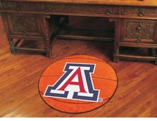 "Arizona Wildcats 27"" Basketball Floor Mat"