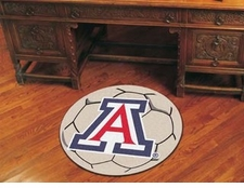 "Arizona Wildcats 27"" Soccer Ball Floor Mat"