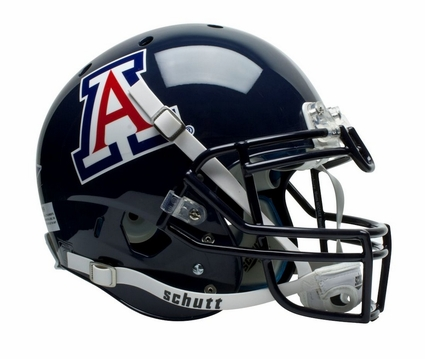 Arizona Wildcats Blue Schutt XP Authentic Helmet