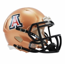 Arizona Wildcats Copper Riddell Speed Mini Helmet