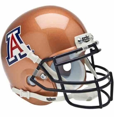 Arizona Wildcats Copper Schutt Authentic Mini Helmet