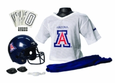 Arizona Wildcats Deluxe Youth / Kids Football Helmet Uniform Set