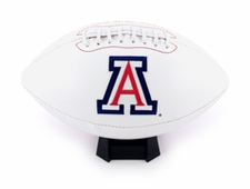 Arizona Wildcats Fotoball Signature Embroidered Full Size Football