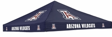 Arizona Wildcats Navy Logo Tent Replacement Canopy