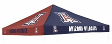 Arizona Wildcats Red / Navy Logo Tent Replacement Canopy