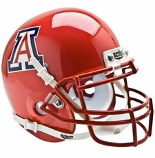 Arizona Wildcats Red Schutt Authentic Mini Helmet