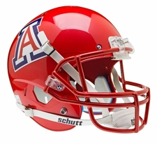Arizona Wildcats Red Schutt XP Full Size Replica Helmet