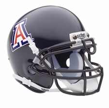 Arizona Wildcats Blue Schutt Authentic Mini Helmet