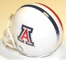 Arizona Wildcats White Riddell Replica Mini Helmet