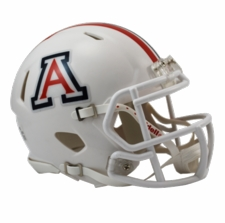 Arizona Wildcats White Riddell Speed Mini Helmet