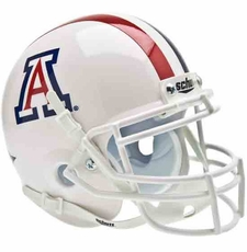 Arizona Wildcats White Schutt Authentic Full Size Helmet