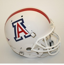 Arizona Wildcats White Schutt Full Size Replica Helmet