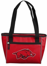 Arkansas Razorbacks 16 Can Cooler Tote