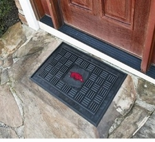 Arkansas Razorbacks 19x30 Medallion Door Mat