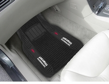 Arkansas Razorbacks 2-Piece Deluxe Car Mats