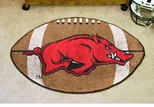 "Arkansas Razorbacks 22""x35"" Football Floor Mat"