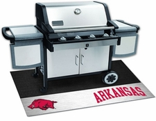 Arkansas Razorbacks 26x42 Grill Mat