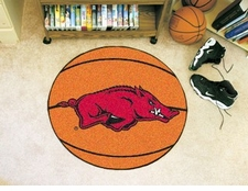 "Arkansas Razorbacks 27"" Basketball Floor Mat"