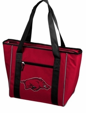 Arkansas Razorbacks 30 Can Cooler Tote