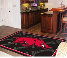 Arkansas Razorbacks 4'x6' Floor Rug