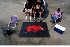 Arkansas Razorbacks 5'x6' Tailgater Floor Mat