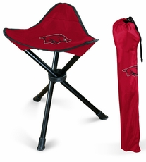 Arkansas Razorbacks Folding Stool