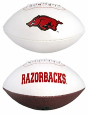 Arkansas Razorbacks Full Size Signature Embroidered Football