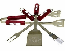 Arkansas Razorbacks Grill BBQ Utensil Set