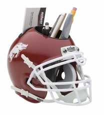 Arkansas Razorbacks Helmet Desk Caddy