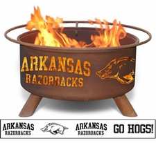 Arkansas Razorbacks Outdoor Fire Pit