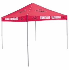 Arkansas Razorbacks Red Logo Canopy Tailgate Tent