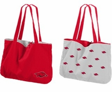 Arkansas Razorbacks Reversible Tote Bag