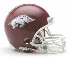 Arkansas Razorbacks Riddell Replica Mini Helmet
