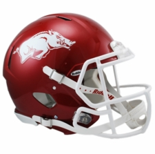 Arkansas Razorbacks Riddell Revolution Speed Authentic Helmet
